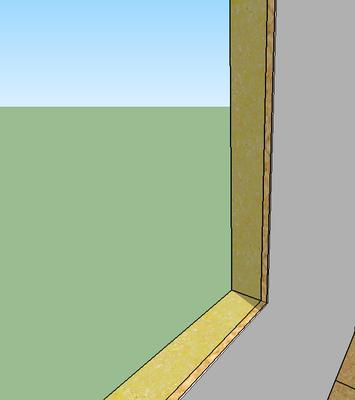 Ungeschliffenes OSB lässt sich nicht streichen. Möchte man trotzdem schöne Wände, muss man dünne Sperrholzplatten drauf anbringen und dieses streichen.