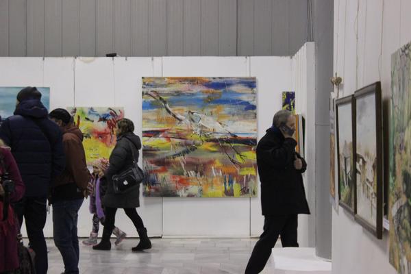 "2016 Gruppenausstellung, Art Gallery ""Nikola Marinov"", Targovishte, Bulgaria"