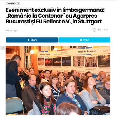Ziarul Romanesc (die Rumänische Zeitung)