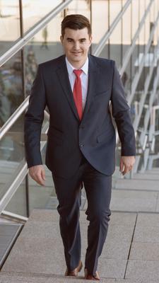 Düsseldorf (Nordrhein-Westfalen) Moderator Tim Christopher Gasse für Tagungen, Kongresse und Events