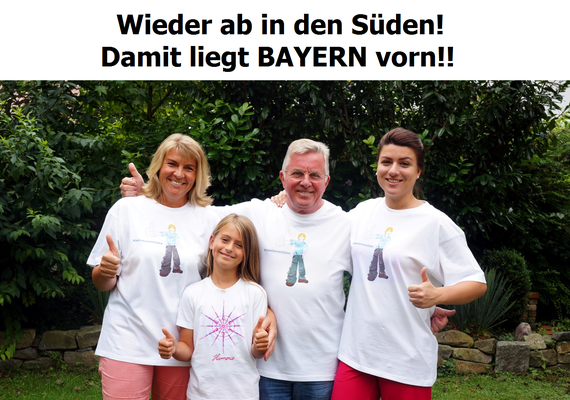 """Das Team von und mit Gabriele Lehner für """"Chrystal Stars"""""""