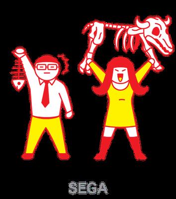 SEGA_化石プレイ_webイラスト
