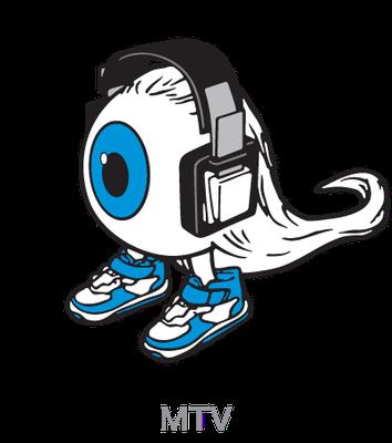 MTV_キャラクター「Music Eye」