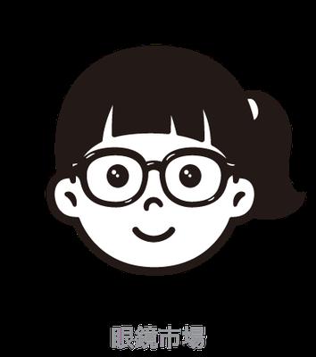 眼鏡市場_こどもメガネ_イラスト_postet,pop