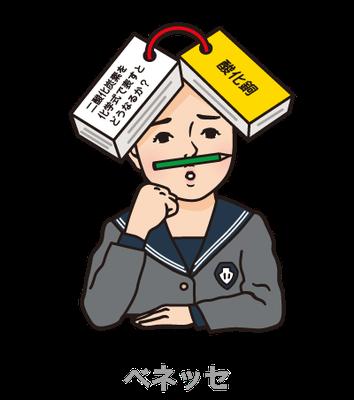 ベネッセ_中3MyStyle_キャラクター_雑誌表紙