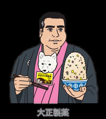 大正製薬_大正漢方胃腸薬「宴会成り上がり診断」_イラスト_web