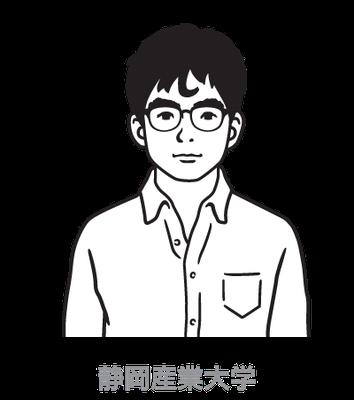 静岡産業大学_しごとまなぶくん_キャラクター_CM、ポスター、パンフレット、web、