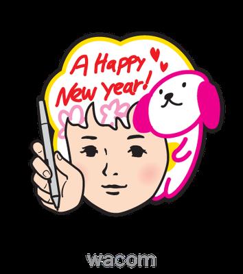 wacom_FAVO_キャラクター_パッケージ、広告