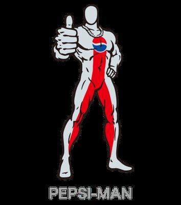 PEPSI_ペプシマン_キャラクター