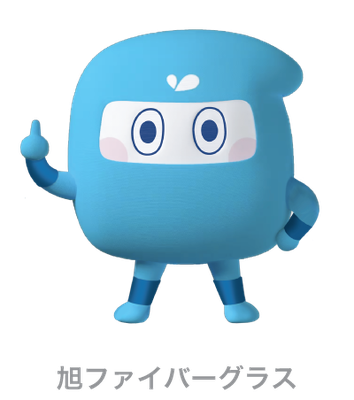 旭ファイバーグラス_アクリアくん_キャラクター
