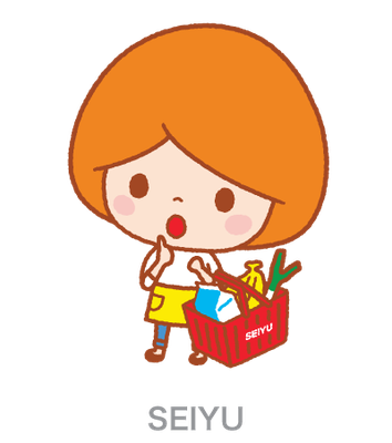 SEIYU_LINEスタンプ「ママ」_キャラクター