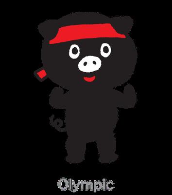 Olympic_トコトン_キャラクター_CM、POP、チラシ