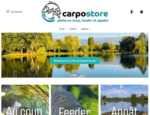 Carpostore, la boutique en ligne du Carpodrome de Laurielle