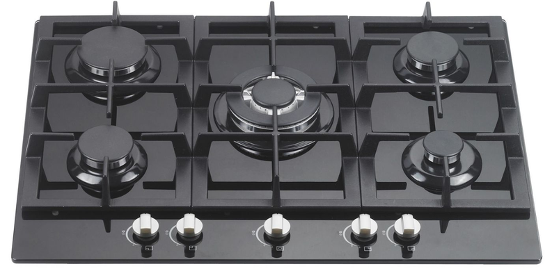 DAN75GTG 70cm Gas Glass Cooktop $750