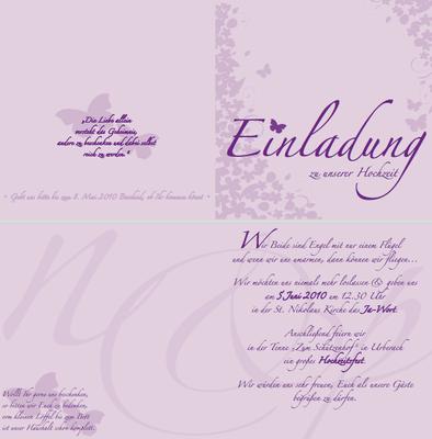 Einladungen & Karten zur Hochzeit von Ideenreich Grafikdesign