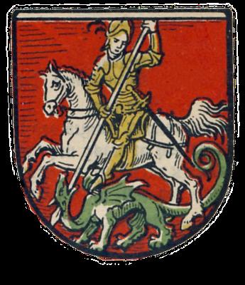 Stadtwappen von Bürgel (Thüringen)