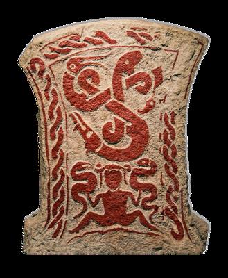 Bildstein von Smiss (Gotland), zwischen 500 und 700