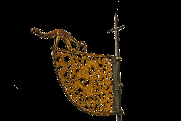 Windfahne eines Wikingerschiffs, 11. oder 12. Jahrhundert; Nationales Historisches Museum Oslo