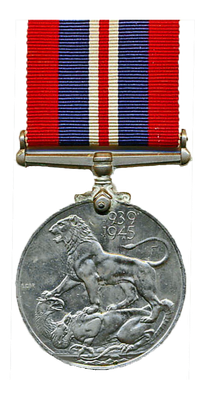 Britische War Medal, 1945