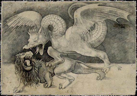 Zeichnung von Leonardo da Vinci, wahrscheinlich Wende vom 15. zum 16. Jahrhundert (Quelle: kulturpool.at)