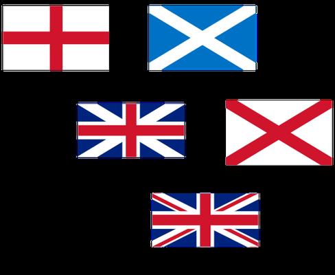 Die Entwicklung der Union Flag