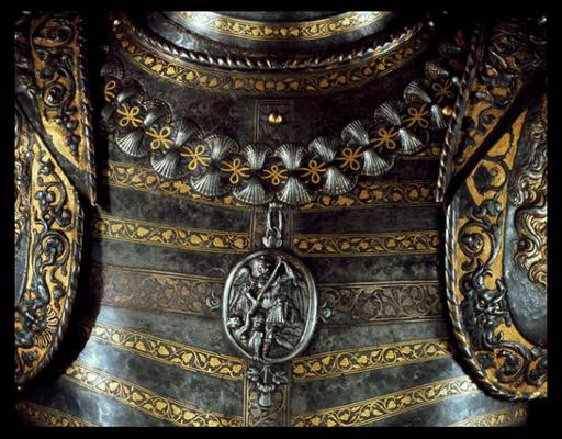 Brustpanzer Franz I. mit dem Orden des Heiligen Michael (Quelle: Wikipedia)