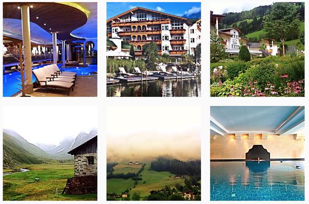 Fotokampagne für das Hotel Schwarz in Österreich
