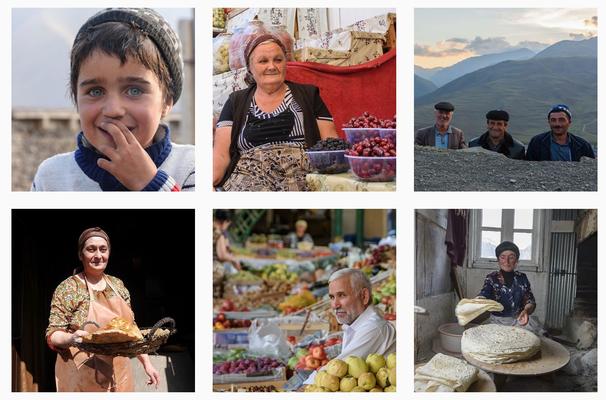 Fotokampagne für das deutsche Tourismusbüro Aserbaidschan