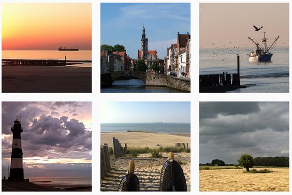 Fotokampagne für das Tourismusbüro Flandern