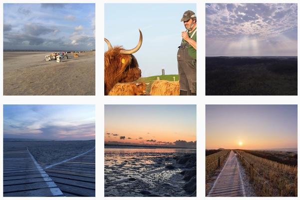 Fotokampagne für das Tourismusbüro Langeoog