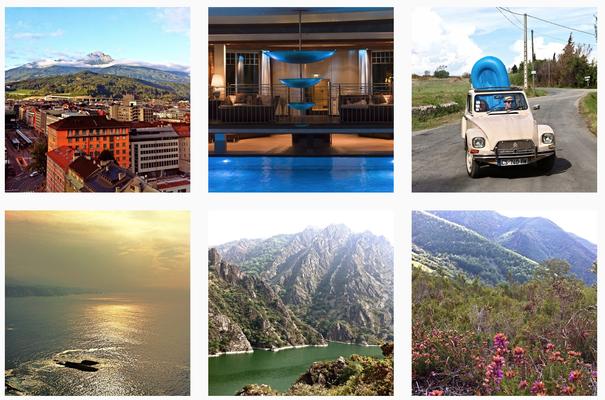 Fotokampagne für die französische Zentrale für Tourismus