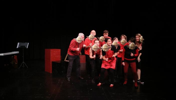 HUMANITY RELOADED, literarisch-musikalisches Programm
