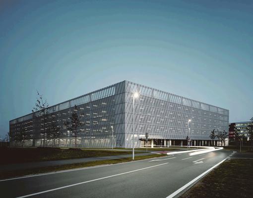 ADIDAS-Parkhaus Nordost, Herzogenaurach, Entwurf: agps architecture ltd