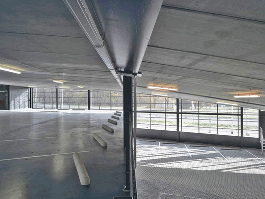 FiftyTwoDegrees Parking, Nirmwegen (Niederlande), Entwurf: Mecanoo
