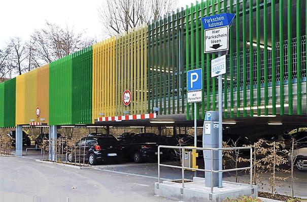 Tiefgarage Furrenstraße, Enisiedeln (Schweiz), Entwurf: Kälin Architekten