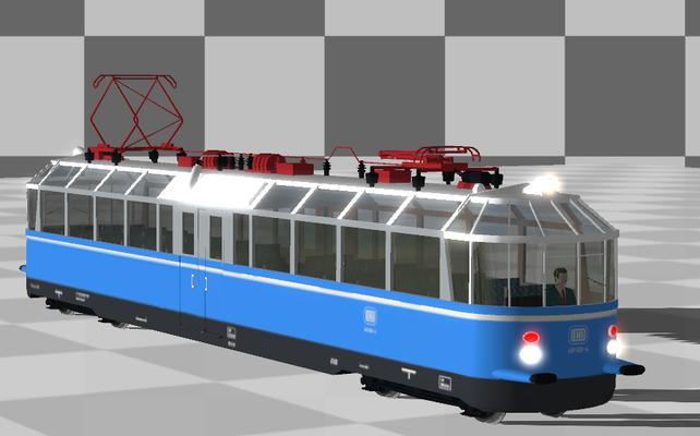 DB_BR_491_001-4 jetzt mit Fahrgästen unter Triebwagen zu finden