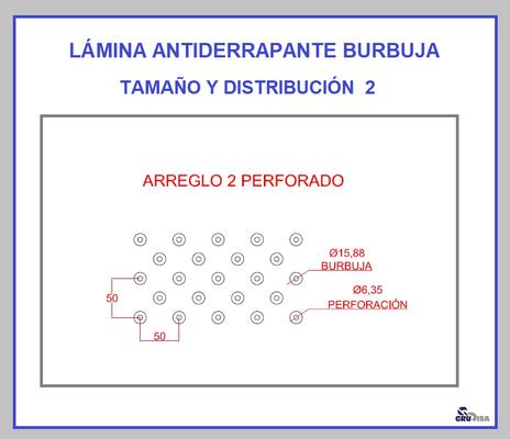 LÁMINA ANTIDERRAPANTE BURBUJA 2