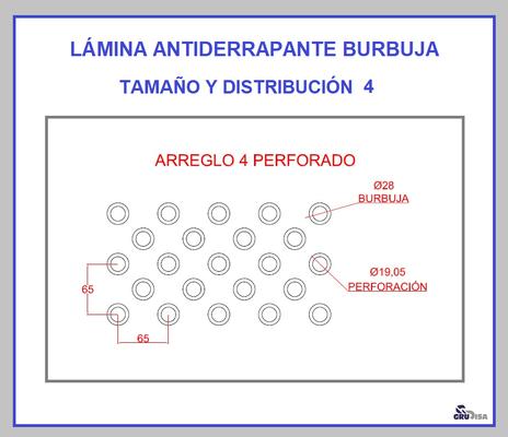 LÁMINA ANTIDERRAPANTE BURBUJA 4