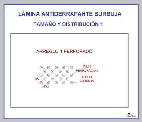 LÁMINA ANTIDERRAPANTE BURBUJA 1