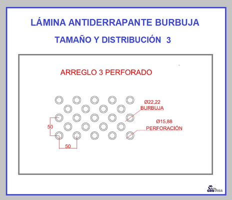 LÁMINA ANTIDERRAPANTE BURBUJA 3