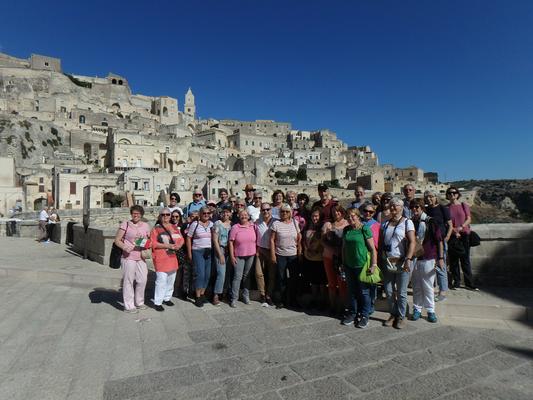 Die DIG-Gruppe in der Europäischen Kulturhauptstadt 2019 Matera.