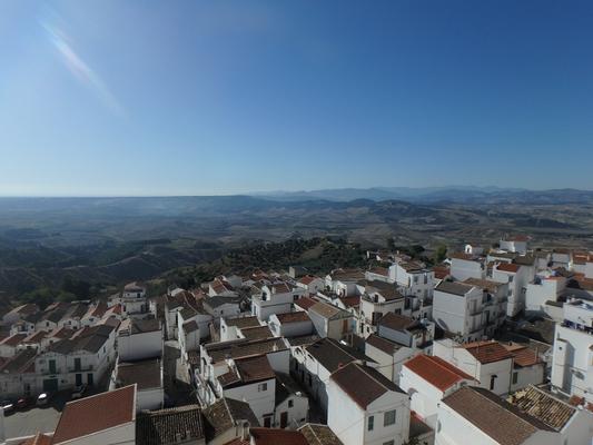 Die weiße Stadt Pisticci.