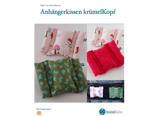 eBook krümelKopf - das Kissen für Fahrradanhänger