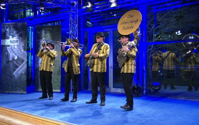 Dixieland zum NDR-Geburtstag in Schwerin