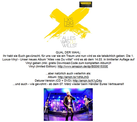 Luxuslärm-Newsletter. 2/2014