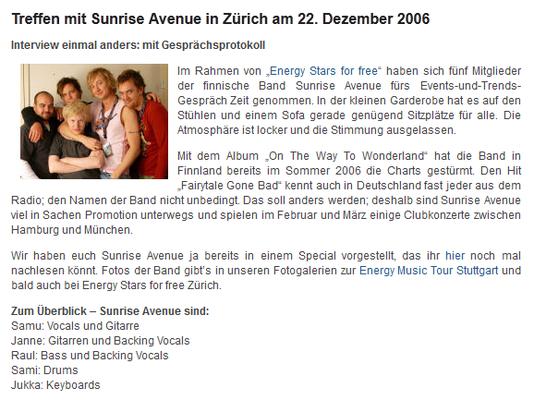 Interview fürs Webmagazin events-und-trends.de / Seite 1