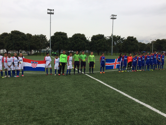 San Pablo (Croacia) vs. All Boys (Islandia) , gana San Pablo 4-2.