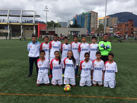 Escuela de fútbol San Pablo (Croacia).  Mundialito 2018 IDRD y Fedefutbol