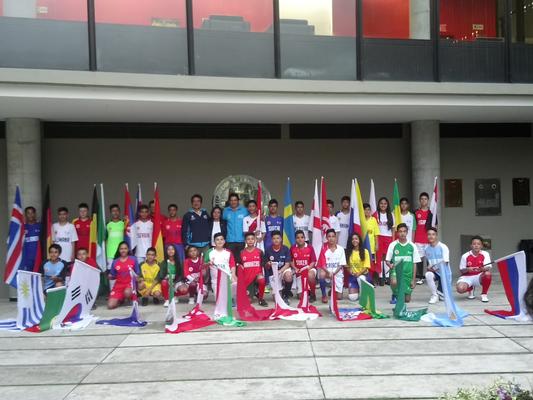 Representantes de Escuelas de Bogotá en Mundialito 2018