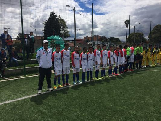 Actos protocolarios Croacia vs. Australia, Mundialito de futbol 2018